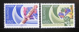 Poštovní známky Island 1982 Evropa CEPT Mi# 578-79