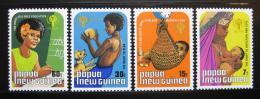 Poštovní známky Papua Nová Guinea 1979 Mezinárodní rok dìtí Mi# 377-80