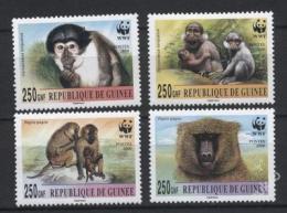 Poštovní známky Guinea 2000 Opice, WWF 275