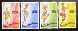 Poštovní známky Papua Nová Guinea 1986 Taneèníci Mi# 535-38