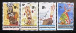 Poštovní známky Papua Nová Guinea 1989 Tradièní tanec Mi# 602-05