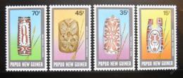 Poštovní známky Papua Nová Guinea 1987 Ceremoniální štíty Mi# 548-51