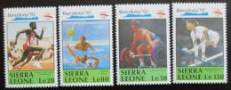 Poštovní známky Sierra Leone 1990 LOH Barcelona