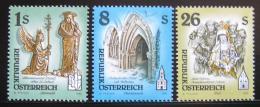 Poštovní známky Rakousko 1995 Umìní, Kláštery Mi# 2155,2169-70