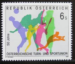 Poštovní známka Rakousko 1995 Gymnastika Mi# 2148