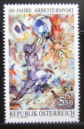 Poštovní známka Rakousko 1992 Sport dìlníkù Mi# 2052