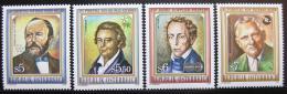 Poštovní známky Rakousko 1992 Vìdci Mi# 2055-58