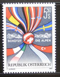 Poštovní známka Rakousko 1992 Ochrana Alp Mi# 2065