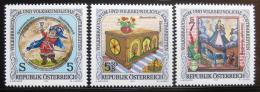 Poštovní známky Rakousko 1992 Folklór, lidové oslavy Mi# 2073-75