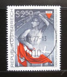 Poštovní známka Rakousko 1977 Muèedníci za svobodu Mi# 1558