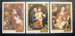 Poštovní známky Cookovy ostrovy 1986 Umìní, Rubens Mi# 1125-27