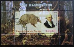Poštovní známka Kongo 2009 Armadillo