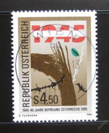 Poštovní známka Rakousko 1985 Výroèí osvobození Mi# 1810