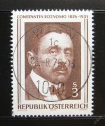 Poštovní známka Rakousko 1976 Constantin Economo, lékaø Mi# 1518
