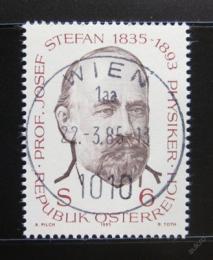 Poštovní známka Rakousko 1985 Josef Stefan, lékaø Mi# 1807