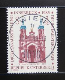 Poštovní známka Rakousko 1985 Kostel v Innsbrucku Mi# 1815