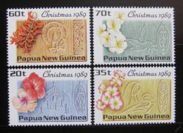 Poštovní známky Papua Nová Guinea 1989 Vánoce Mi# 606-09