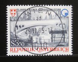 Poštovní známka Rakousko 1985 Vídeòský kanál Mi# 1834