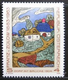 Poštovní známka Rakousko 1988 Umìní, Franz von Zulow Mi# 1912