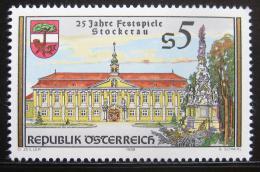 Poštovní známka Rakousko 1988 Festival v Sockerau Mi# 1927