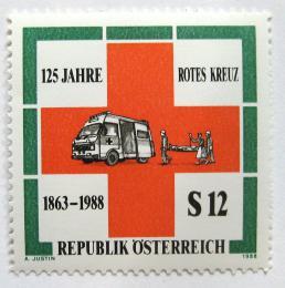 Poštovní známka Rakousko 1988 Mezinárodní èervený køíž Mi# 1920