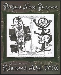 Poštovní známka Papua Nová Guinea 2008 Umìní Mi# Block 61