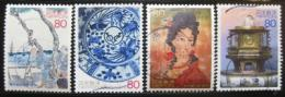 Poštovní známky Japonsko 2003 Edo Shogunate Mi# 3551-54