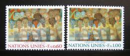 Poštovní známky OSN Ženeva 1974 Umìní Mi# 41-42