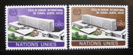 Poštovní známky OSN Ženeva 1974 Ústøedí ILO Mi# 37-38
