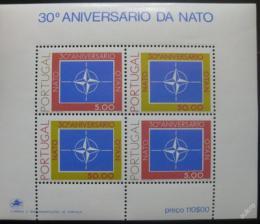 Poštovní známka Portugalsko 1979 Výroèí NATO Mi# Block 26