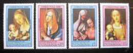 Poštovní známky Dominika 1986 Umìní Mi# 993-96