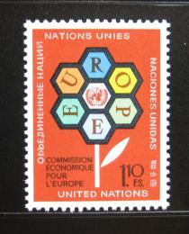 Poštovní známky OSN Ženeva 1972 Ekonomická komise Mi# 27