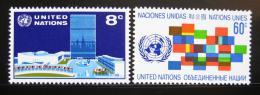 Poštovní známky OSN New York 1971 Symboly Mi# 238-39