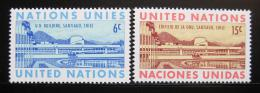 Poštovní známky OSN New York 1969 Latinská Amerika Mi# 210-11