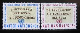 Poštovní známky OSN New York 1967 Citace Mi# 187-88