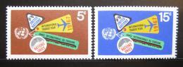 Poštovní známky OSN New York 1967 Rok turistiky Mi# 185-86
