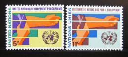 Poštovní známky OSN New York 1967 Program rozvoje Mi# 174-75