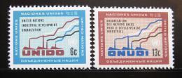 Poštovní známky OSN New York 1968 Prùmyslový rozvoj Mi# 200-01