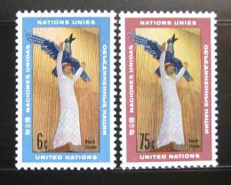 Poštovní známky OSN New York 1968 Umìní Mi# 198-99