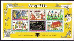 Poštovní známka Anguilla 1979 Mezinárodní rok dìtí Mi# Block 23