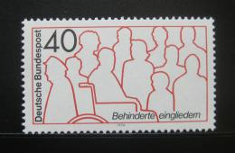Poštovní známka Nìmecko 1974 Rehabilitace postižených Mi# 796