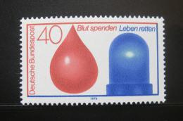 Poštovní známka Nìmecko 1974 Dárcovství krve Mi# 797