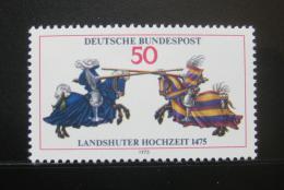 Poštovní známka Nìmecko 1975 Svatba Landshutù Mi# 844
