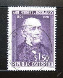 Poštovní známka Rakousko 1954 Karl von Rokitansky Mi# 997