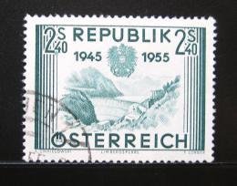 Poštovní známka Rakousko 1955 Výroèí osvobození Mi# 1016