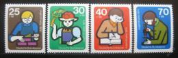 Poštovní známky Nìmecko 1974 Mládež Mi# 800-03