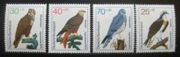 Poštovní známky Nìmecko 1973 Ptáci Mi# 754-57