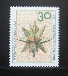 Poštovní známka Nìmecko 1973 Vánoèní hvìzda Mi# 790