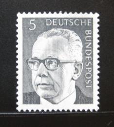 Poštovní známka Nìmecko 1970 Prezident Heinemann Mi# 635