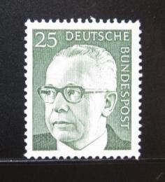 Poštovní známka Nìmecko 1971 Prezident Heinemann Mi# 689